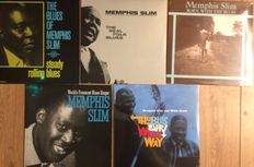 Memphis slim collection || Still in sealing || 5 LP's