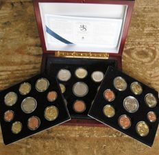 Finland – Year pack Euro coins 1999-2000-2001