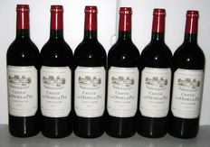 1997 Château Les Ormes de Pez, exceptional Cru Bourgeois of Saint-Estèphe, batch of 6 bottles
