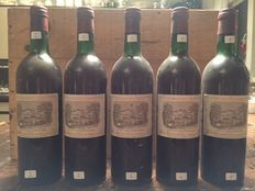 1973 Chateau Lafite Rothschild, Pauillac, France - 5 flessen