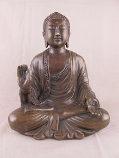 Bronze Japanese-style Buddha – Thailand – Last quarter of the 20th century