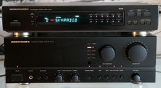 Top set by Marantz PM-62 and ST-63