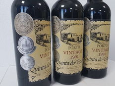 1991 Vintage Port Wine – Quinta de Estanho – 3 bottles, 75cl