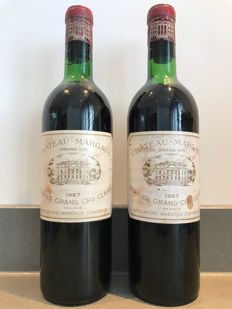 1967 Chateau Margaux Premier Grand Cru - 2 Bottles