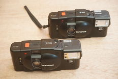 Olympus XA-2 with A11 flash, 2 pieces