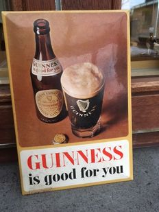 """""""GUINNESS IS GOOD FOR YOU"""", stamped 1968"""