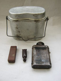 Set original german  personal belongings WW2 - east front