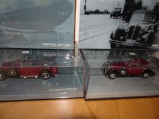 Minichamps - Scale 1/43 - Maybach Zeppelin and Horch