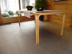 Rud Thygesen and Johnny Sørensen for Magnus Olesen  Dining table in solid beech.