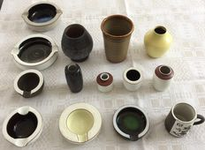 Ravelli - lot with 14 ceramic objects