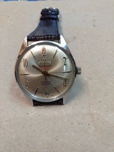 Atlantic Worldmaster Men's wristwatch – Original, from circa 1970.