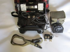 Complete German Military Field Telephone