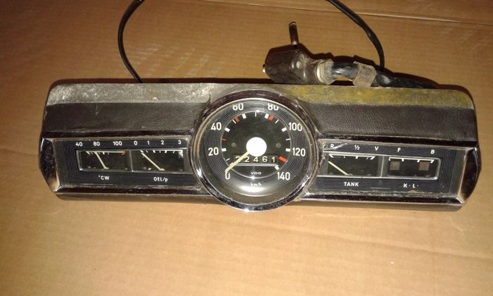 Mercedes-Benz - Ponton gauge/dashboard units - 1950s/1960s