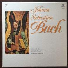 Meister der Orgel: Superior Bach (and some others) - Organ Collection on Archiv, Erato, CBS, also Albert Schweitzer Japanese pressing, Marie-Claire Alain, Helmut Walcha