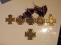 Group of World War 1 related medals