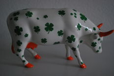 Joss Burke for Cowparade - type Lucky Cow - Medium and Retired