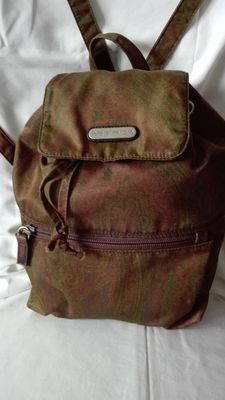 Lot of 2 – Etro Milano – backpack and foulard