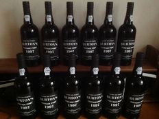 1997 Vintage Port Burton's – 12 bottles