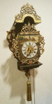 Dutch made stool clock – Period 1950