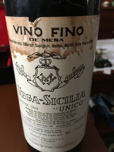 1964 Vega Sicilia unico – 1 bottle