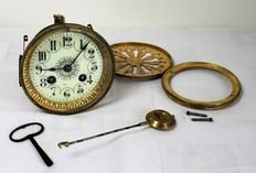 Antique French pendulum movement – complete – circa 1890