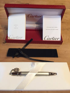 Cartier- Ballpoint Pen with Charm