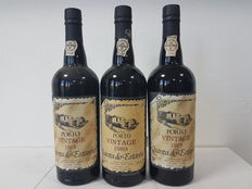 1989 Vintage Port Wine – Quinta de Estanho – 3 bottles, 75cl