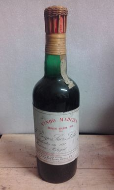 1915 Wine from Madeira – Borges Sercial Solera – 1 bottle
