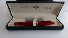 Aurora Ipsilon Fountain Pen, Velvet, Red, Gold trim, B18R,Unused.