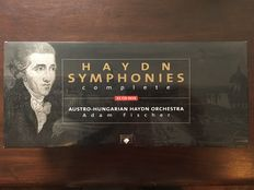 Haydn - All Symphonies, Adam Fischer with the Austrian-Hungary Orchestra, 33 CDs total
