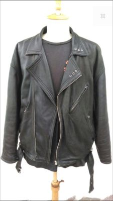 Gianni Versace – Biker leather coat
