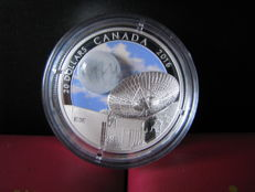 Canada - 20 Dollars 2016 'The Universe' - zilver