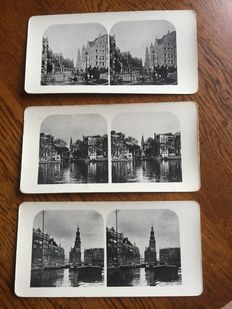 Stereo photos for the stereoscope 31 pieces.