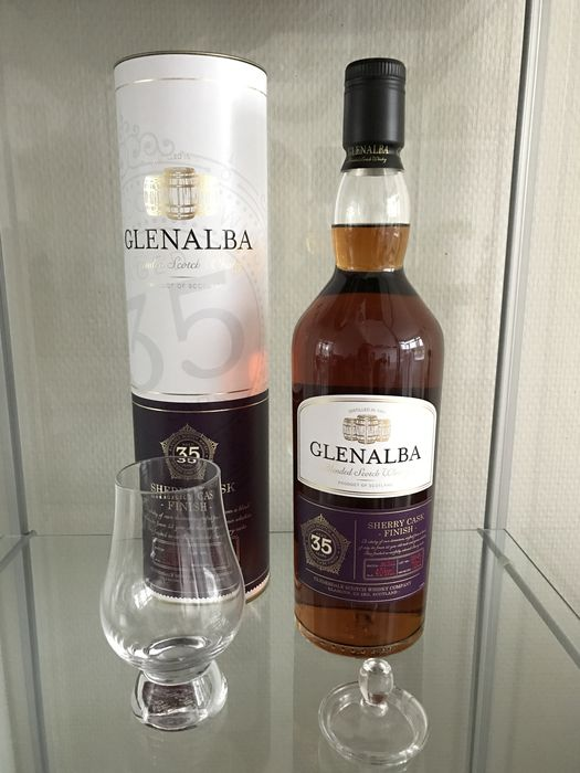 Glenalba 35 Years Sherry Cask Finish Scotch Whisky
