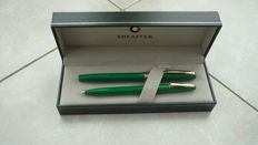 Sheaffer fountain pen and balpen