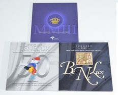 "The Netherlands – Year packs 2003 ""Birth set "" + Benelux set 2003 and 2008"