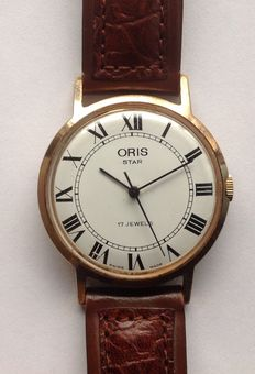 Oris Star men's watch, 1960s, in good condition