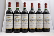 """2001, Chateau Chasse-Spleen, Moulis-en-Medoc, """"Cru Bourgeois Exceptionnel"""" France, 6 bottles"""