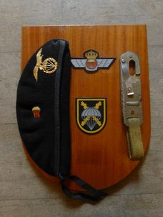 Spanish plaque Para Commando