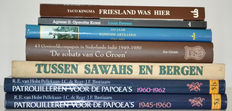 Commemorative books; Lot with 7 military editions - 1948/2010