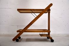 Designer unknown – collapsible serving trolley