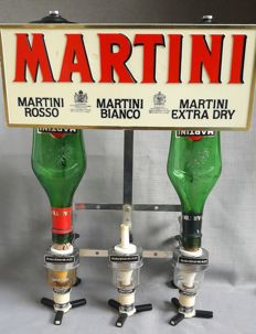 Bottle holder - Martini - 2nd half of the 20th century