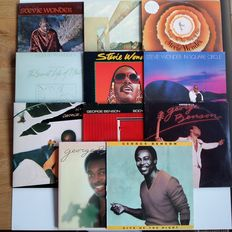 A great compilation of Stevie Wonder and George Benson; R&B, Funk, Soul, Jazz, Pop and Blues.