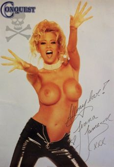 Signed; Jenna Jameson – Conquest – 1996