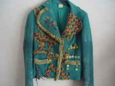 Save the Queen - beautiful wool blazer and blouse.