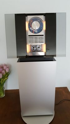 Bang & Olufsen BeoSound Ouverture with B&O CD stand.