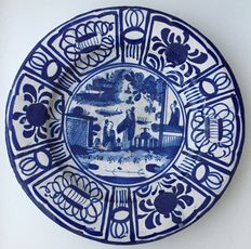 17th century chinoiserie bowl - approx. 32 cm