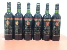 Lot of six bottles of Rioja: Six bottles of 1985 Marques del Puerto Gran Reserva