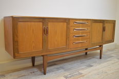 V.B. Wilkins for G-Plan – mid-century modern 'Fresco' sideboard