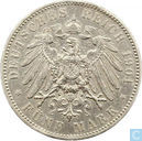 Saxony-Albertine 5 Mark 1901